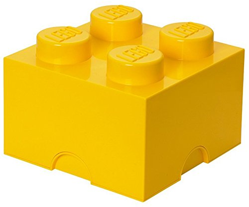 LEGO Storage Brick 4, Yellow