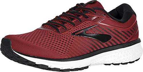 Brooks Men's Ghost 12 Red/Biking Red/Black 11.5 D US