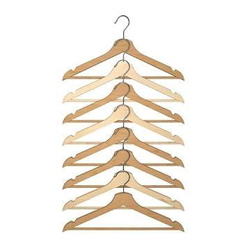 Hosenbügel Ikea ikea holzkleiderbügel bumerang 8 er pack bügel aus massivem laub