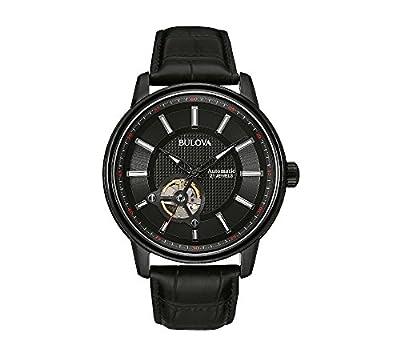 Bulova Men's Leather Strap Watch