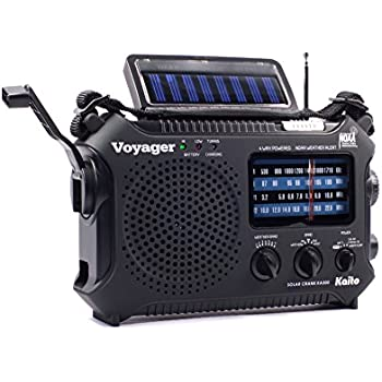 Kaito KA500 5 Way Powered Emergency AM FM SW NOAA Weather Alert Radio