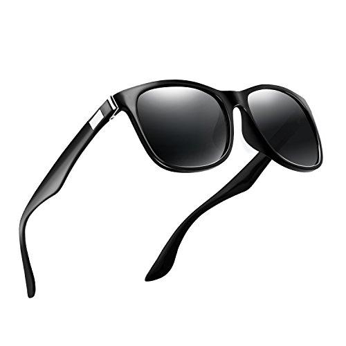 Polarized Sunglasses for Men Women Vintage Mens Sunglasses Rectangular Driving Sun Glasses