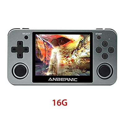 PROKTH RG350m Handheld Game Console with 3.5 Inch IPS Screen Preload 10000 Games Opendingux System Gifts for Children: Home & Kitchen
