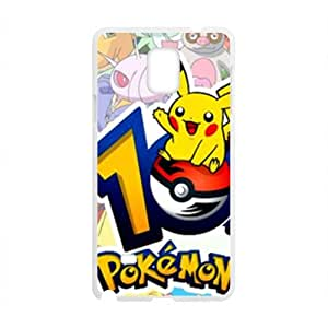 Pokemon Lovely Pikachu Cell Phone Case for Samsung Galaxy Note4