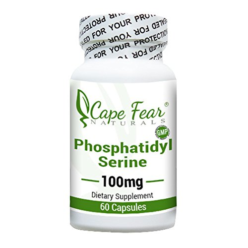 Cape Fear Naturals Phosphatidyl Serine, 100mg each, 60 Capsules by Cape Fear Naturals (Image #3)