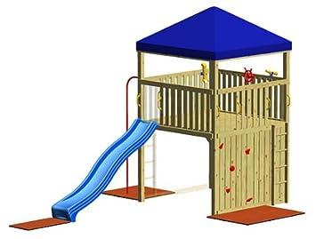 Klettergerüst Winnetoo : Winnetoo spielturm gp giga amazon spielzeug