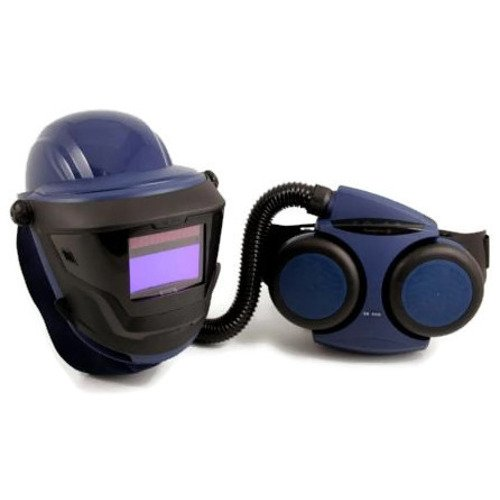ArcOne SR500 Respirator PAPR Kit with Hard Hat Grinding Visor and Welding Face Shield - 5500V Filter