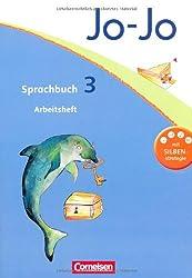 Jo-Jo Sprachbuch - Aktuelle allgemeine Ausgabe: 3. Schuljahr - Arbeitsheft: Mit Lernstandsseiten