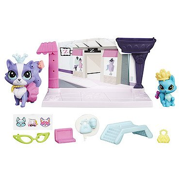 Littlest Pet Shop Activity Set My Collector Journal Pink Bunny