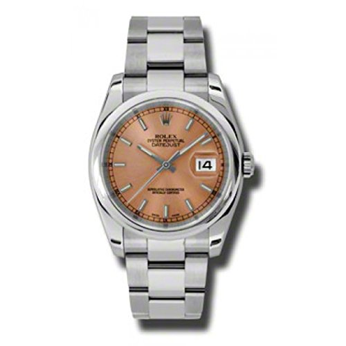 Rolex Datejust Automatic Pink Dial Stainless Steel Ladies Watch 116200PSO (Rolex Datejust Lady 31 Rose Gold Price)