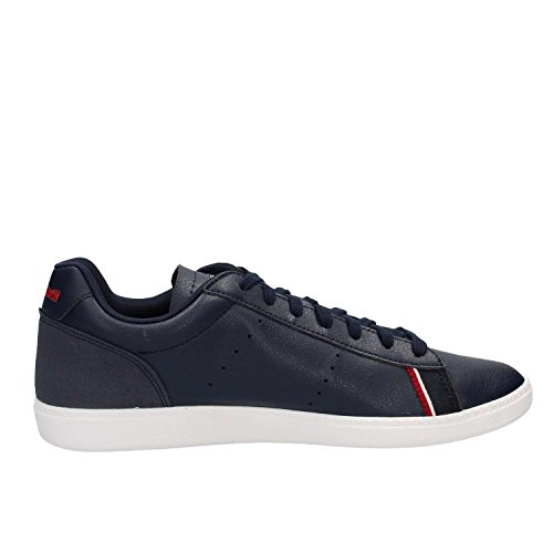 Le Coq Sportif Scarpe 1811219 COURTSTAR S Leather Dress Blue Moda Uomo Fashion Blu