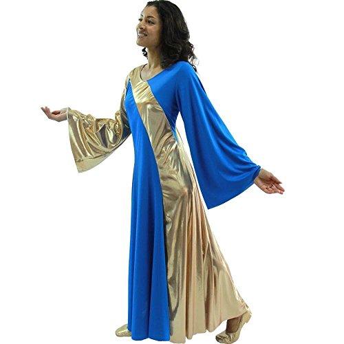 Danzcue Womens Asymmetrical Sleeve Dance product image