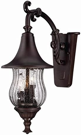 Acclaim 3402ABZ Del Rio Collection 3-Light Wall Mount Outdoor Light Fixture, Architectural Bronze