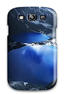 Tpu Case Cover For Galaxy S3 Strong Protect Case - Lake Design