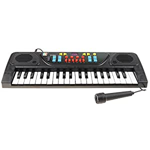 Baoblaze 61 Teclas Carga USB Electrónica Órgano Teclado Piano Mini Micrófono Juego Niños Juguete Musical B-Día Regalo Actividad De Juego: Amazon.es: ...