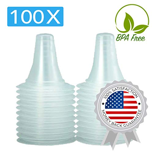 100x Ear Thermometer Probe Covers/Refill Caps/Lens Filters for All Types of Digital Thermometer/Braun ThermoScan Models