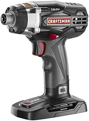 Craftsman C3 19.2 Volt 3-speed Impact Driver Bare Tool, No Battery or Charger Model 315.ID2025