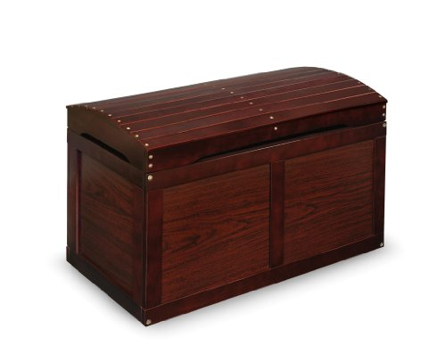 Hardwood Safety Hinge Barrel Top Toy Storage Chest