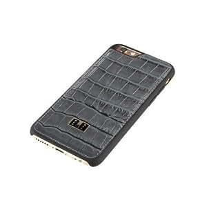 GOLDBLACK iPhone 6s/6 Back Cover Croco Grey