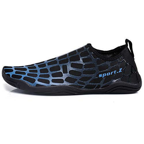 Blue M GAXmi D US Water Shoes Aqua Swimming Yoga 12 Surfing Quick Barefoot Men Drying for B M Shoes 13 US Beach Women Men Women 1w61Tr