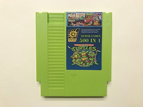 NES 500 in 1 Red Game Cartridge