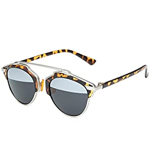 Joopin Fashion Polarized Sunglasses 2016 Alloy Frame Sunglass Women Brand Designer Sun Glasses (Leopard)