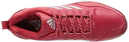 Adidas Mens Freak X Carbon Mid Cross Trainer Rosso Potere, Argento Met., Ftwr Bianco