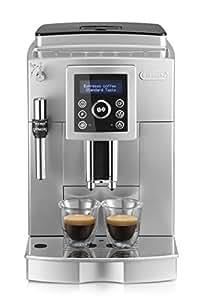 De'longhi Ecam 23.420.sb - Cafetera superautomática, 15 bares presión, depósito agua extraíble 1,8l, panel lcd, sistema cappuccino, dispensador de café ajustable, limpieza automática, plateado