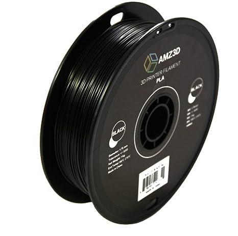 2.2 lbs 1kg Spool - Dimensional Accuracy +//- 0.03mm AMZ3D 1.75mm Grey ABS 3D Printer Filament