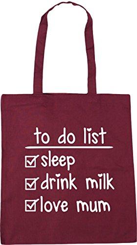 Beach 10 love drink HippoWarehouse Tote Burgundy Shopping do litres list To sleep Bag mum milk x38cm 42cm Gym xYPYfB