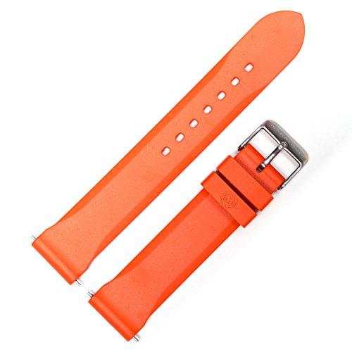 Marathon WW005006OR Divers Model Rubber Watch Band/Strap, (20 mm, Orange)
