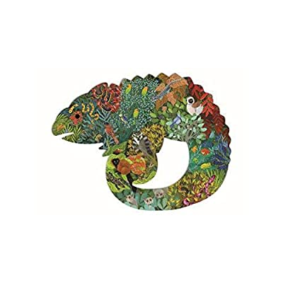 DJECO Puzz Art Chameleon Jigsaw Puzzle: Toys & Games