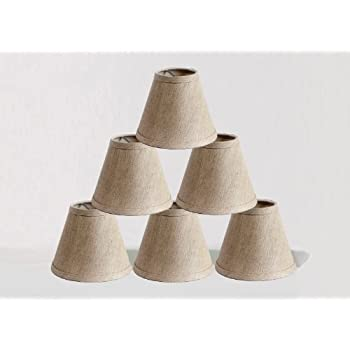 Urbanest Chandelier Lamp Shades, Set of 6, Soft Bell 3\