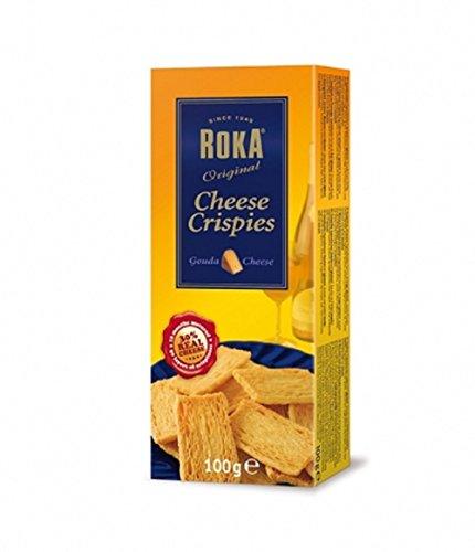ROKA Cheese Crispies - Gouda - Roka Gifts