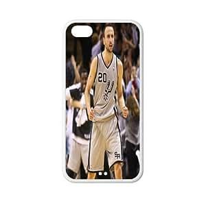 Exclusive Manu Ginobili plastic hard case skin cover for iPhone 5C AB939177