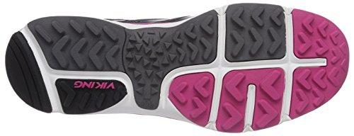 Pewter Marka de Femme 7839 Pink Dark Grau Chaussures Gris Trail Viking W 8dtxqSad