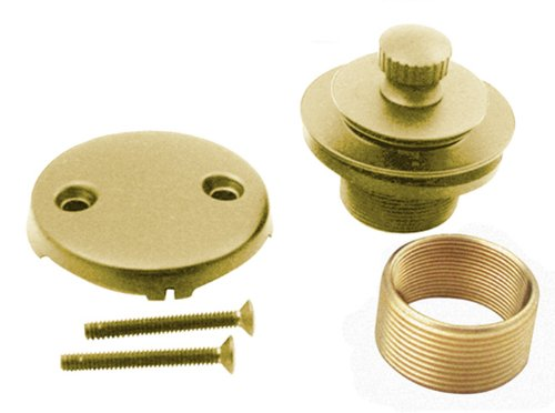 PB Lift and Turn Bath Waste Conversion Kit, Polished Brass (Belle Conversion Kit)