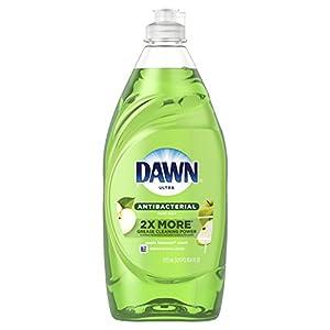 Dawn Ultra Antibacterial Hand Soap, Dishwashing Liquid Dish Soap Apple Blossom 19.4 oz