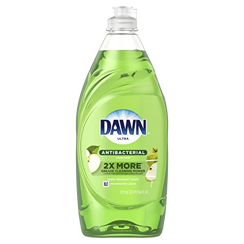 Dawn Ultra Antibacterial Dishwashing Liquid, Apple Blossom, 19.4 Fluid Ounce (Packaging May Vary)