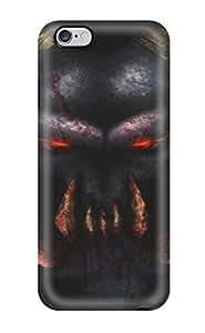 Defender Case For Iphone 6 Plus, Demon Dark Abstract Dark Pattern
