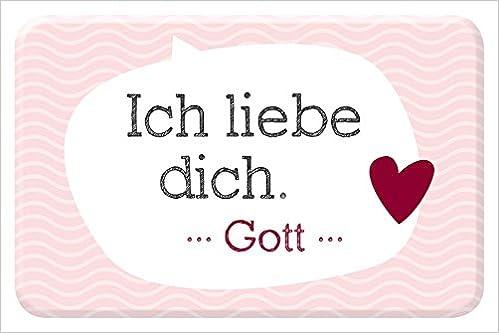 Ich Liebe Dich Gott Magnet 4029856841229 Amazoncom Books