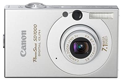 Canon PowerShot SD1000 7.1MP Digital Elph Camera with 3x Optical Zoom