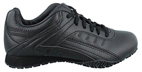 Fila Donna, Memory Elleray 5 Sneaker Da Lavoro Antiscivolo Larga Larghezza Nero