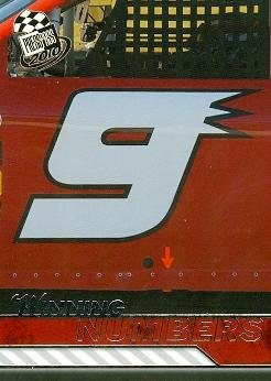 Kasey Kahne trading card (Auto Racing) 2010 Press Pass Winning Numbers (Kasey Kahne Number)
