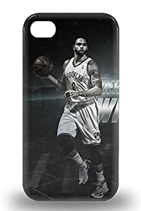 Tough Iphone Case Cover Case For Iphone 4/4s NBA Brooklyn Nets Deron Williams #8
