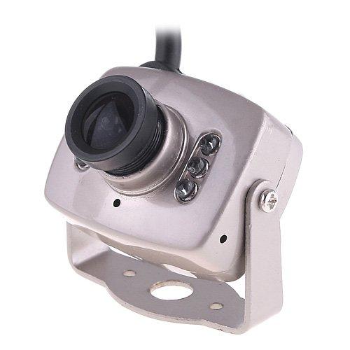 "Super Mini Color Wired 1/4"" CMOS Micro Camera Security Camera 380TVL CCTV Camera Video Monitor Webcam PAL"