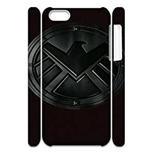 Agents of S.H.I.E.L.D HILDA8015774 3D Art Print Design Phone Back Case Customized Hard Shell Protection Iphone 5C