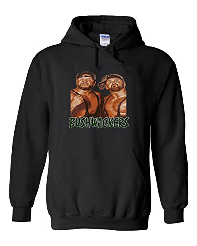 The Silo BLACK The Bushwackers WWF Hooded Sweatshirt YOUTH by The Silo