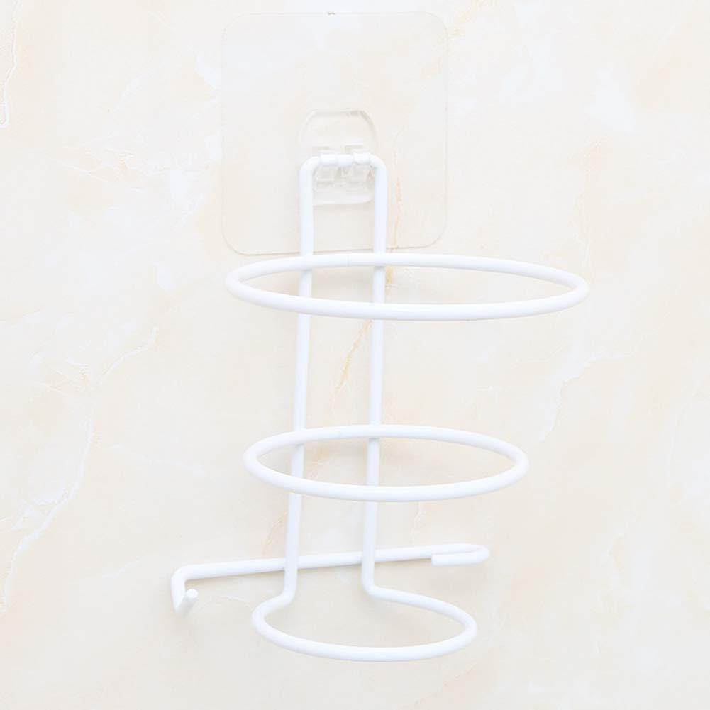 Hair Dryer Rack Non-perforated Bracket Bathroom Bathroom Wall Mount Storage Racks-A