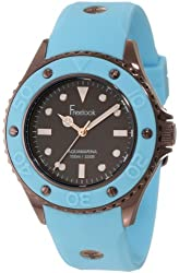 Freelook Women's HA9035-6C Aquajelly Blue Silicone Band With Blue Bezel Watch